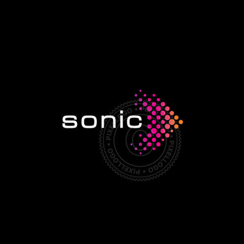 Sonic Arrow Logo - Pixellogo