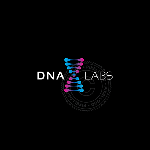DNA Labs Logo - Modern DNA Graphic logo | Pixellogo