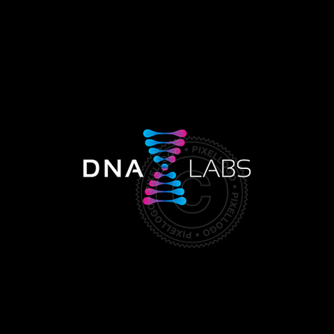DNA Labs Logo - Pixellogo
