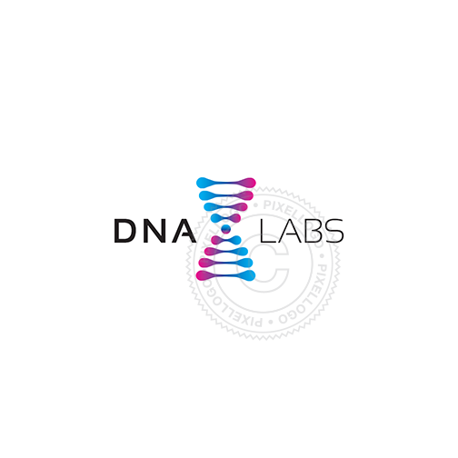 DNA Labs Logo - Creative DNA logo design | Pixellogo