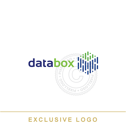 Data Box logo - Pixellogo