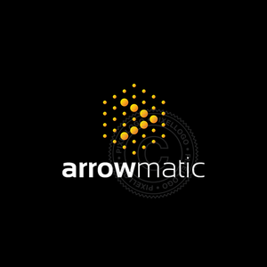 Matrix Arrow Logo - Virtual yellow box arrow logo | Pixellogo
