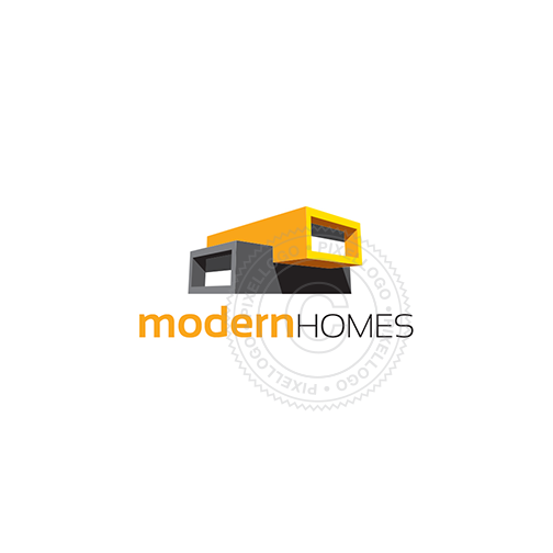 Modern Home Architects -Prefab home design- Pixellogo