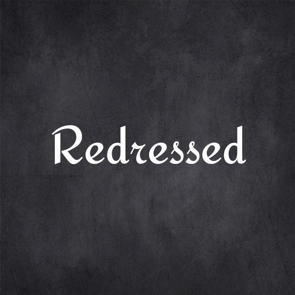Redressed free font