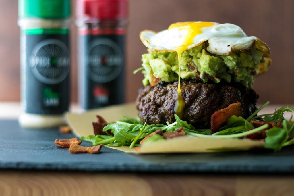 Epic Paleo Burger with Spice Cave Seasonings | thespicecave.com