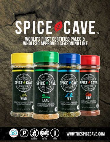 Spice Cave Product Sell Sheet
