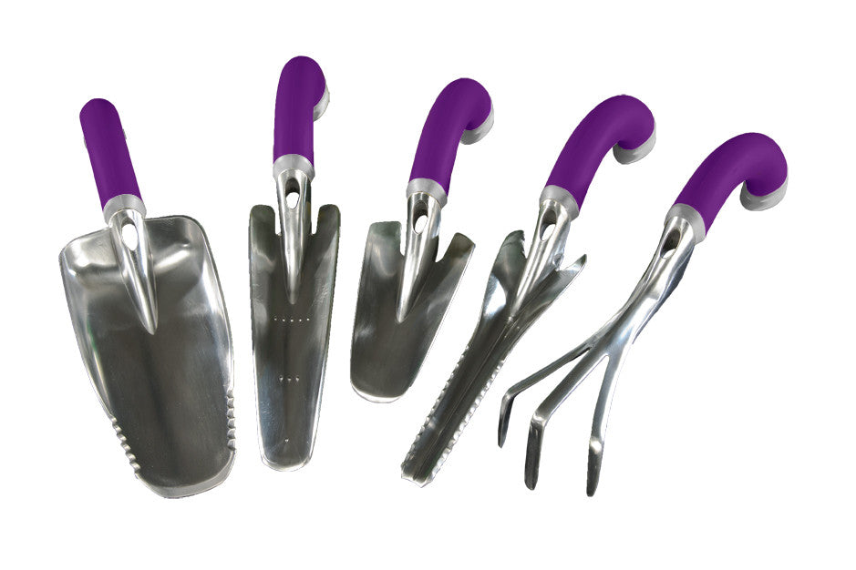 ... Ergonomic 5 Piece Garden Tool Set ...
