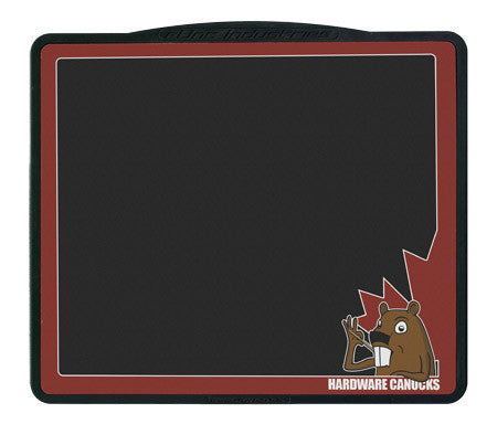 Hardware Canucks Maple Leaf Mouse Pad