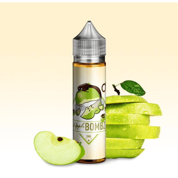 BOMBZ E-Liquid 60 ml / 0 mg Apple Bombz