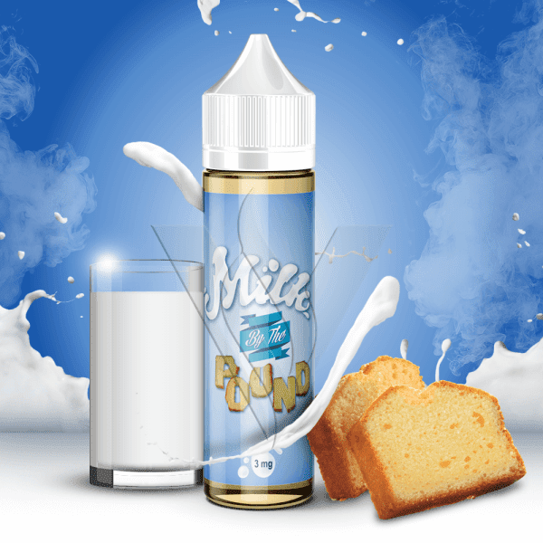 By The Pound E-Liquid 60 ml / 0 mg Milk By The Pound