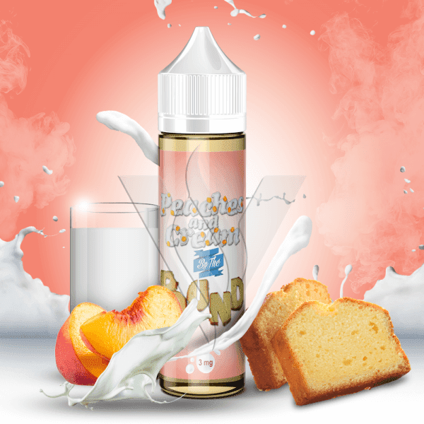 By The Pound E-Liquid 60 ml / 0 mg Peaches And Cream By The Pound