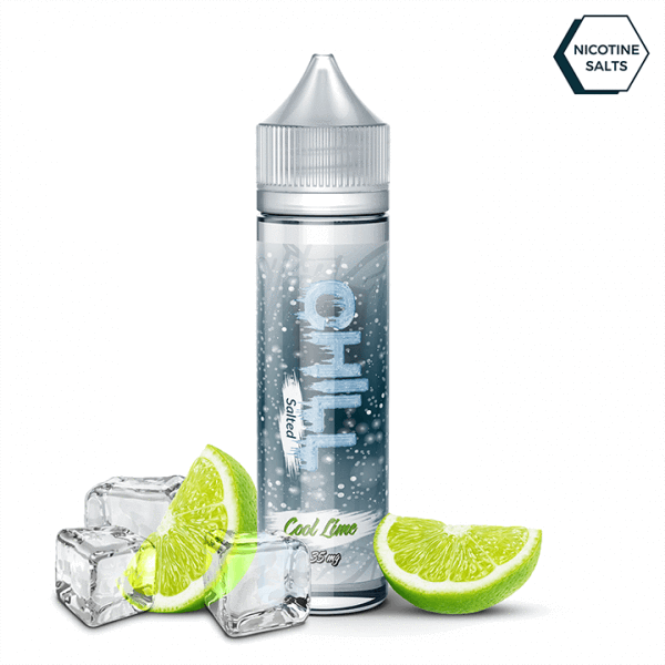 Chill Salted Nic Salt 30ml / 25mg Cool Lime by Chill Salted