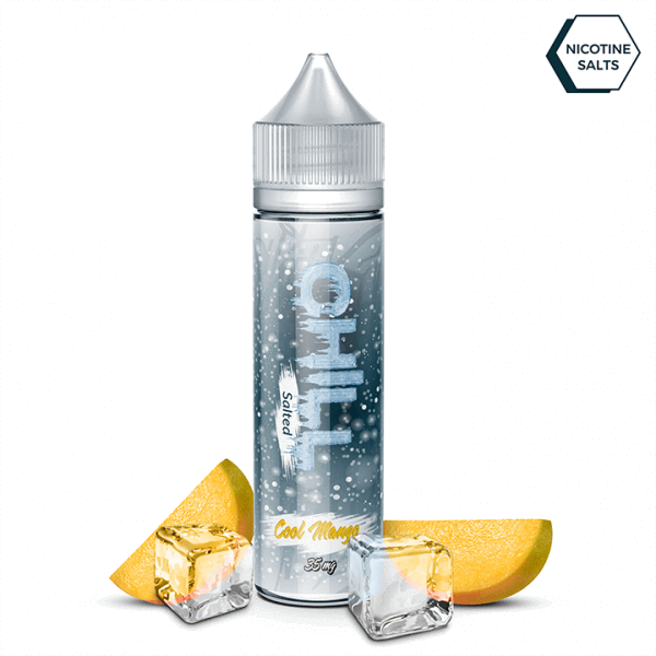 Chill Salted Nic Salt 30ml / 25mg Cool Mango by Chill Salted