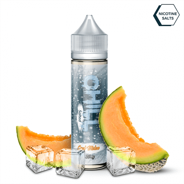 Chill Salted Nic Salt 30ml / 25mg Cool Melon by Chill Salted
