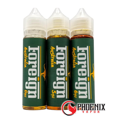 Foreign E-Liquid 60 ml / 0 mg Australia by Foreign