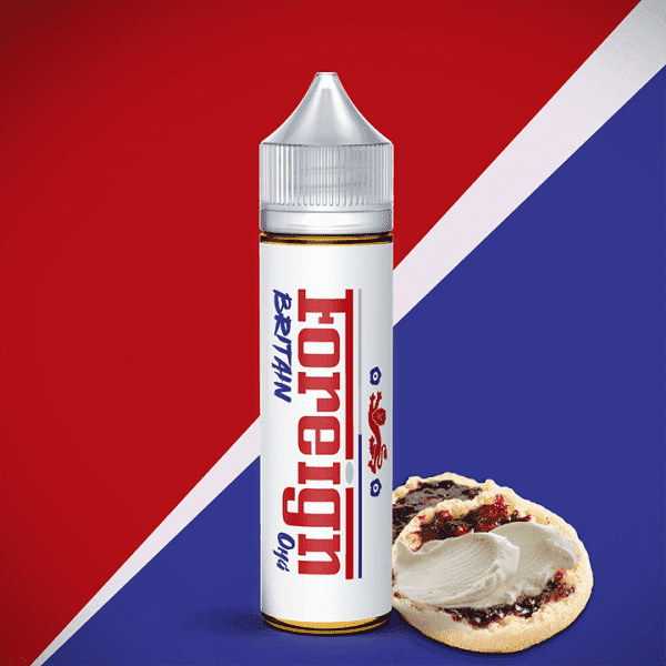 Foreign E-Liquid 60 ml / 0 mg Britain by Foreign