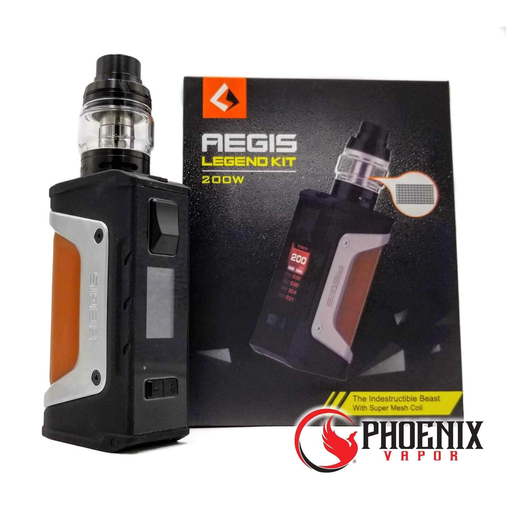 Geek Vape (Mods) Box Mod Rainbow Aegis Legend KIT with Aero Tank by Geek Vape