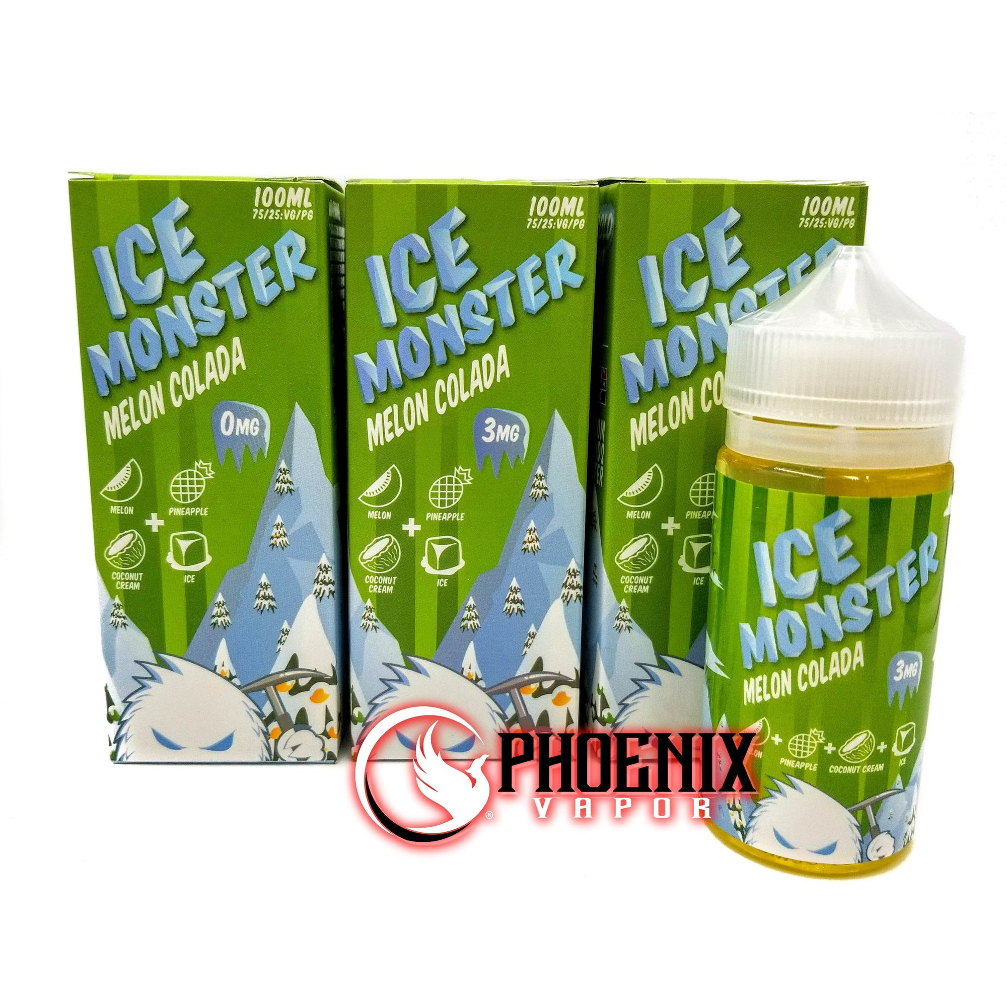 Ice Monster E-Liquid 100 ml / 0 mg Melon Colada by Ice Monster
