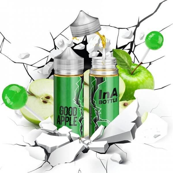Ina Bottle E-Liquid 100 ml / 0 mg Good Apple by Ina Bottle