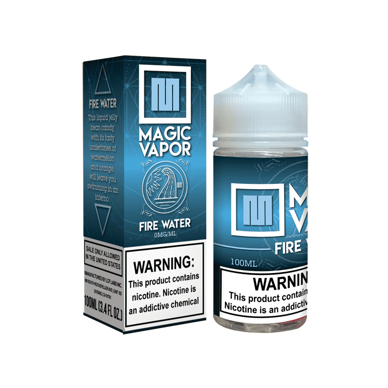 Magic Vapor E-Liquid 100 ml / 0 mg FireWater by Magic Vapor