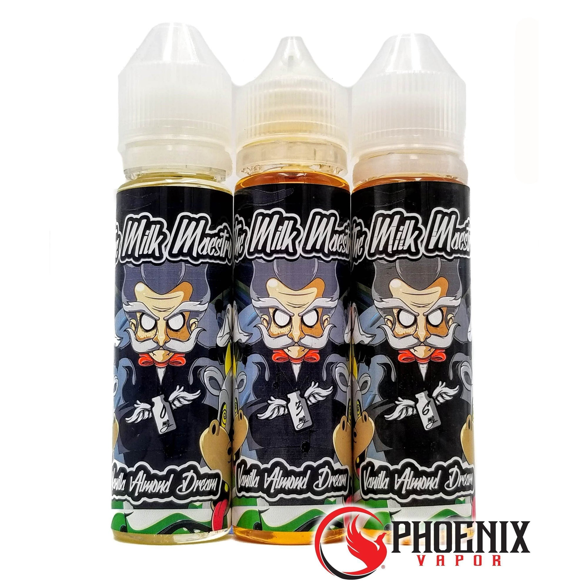 Milk Maestro E-Liquid 60 ml / 0 mg Vanilla Almond Dream by Milk Maestro