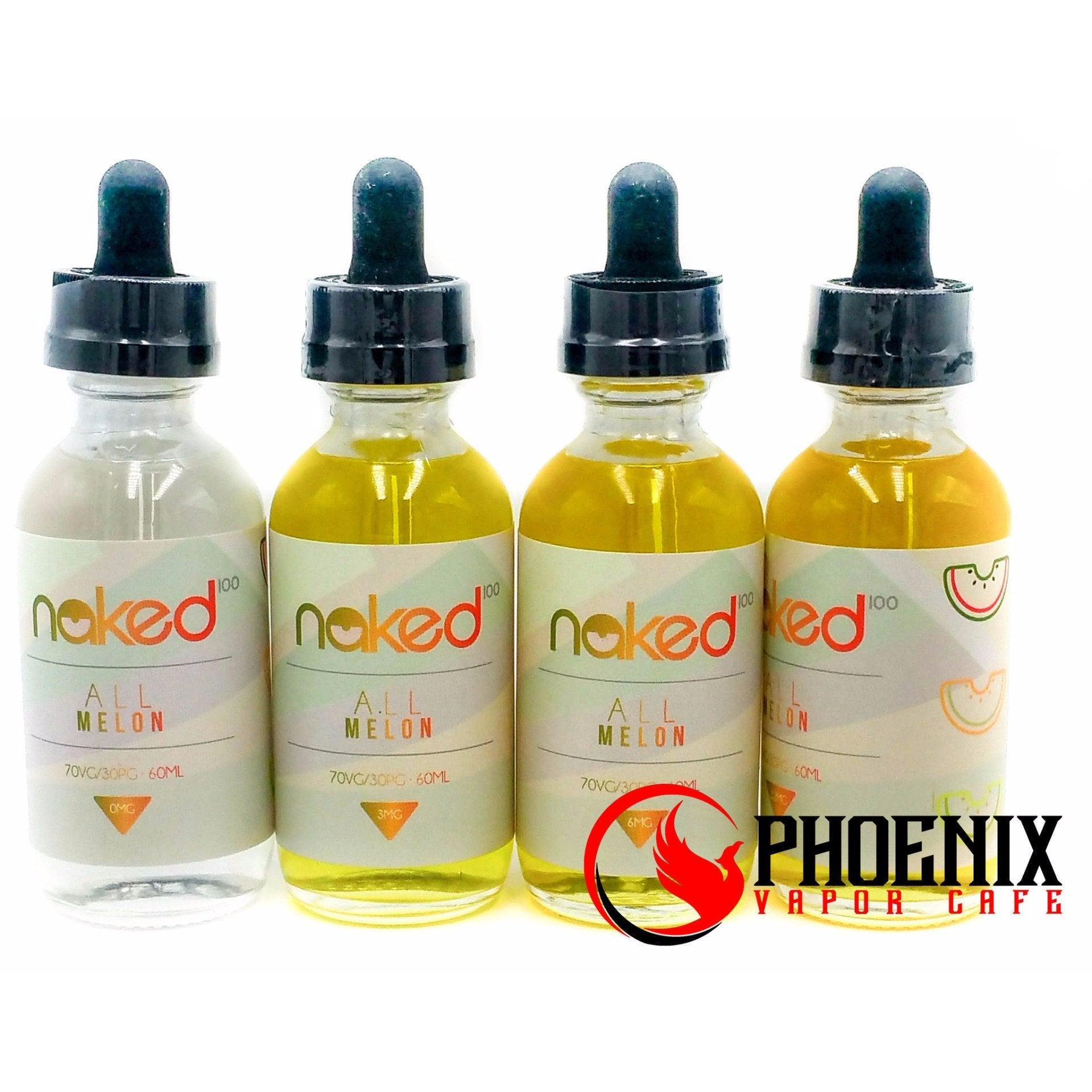 Naked E-Liquid 60 ml / 0 mg Naked All Melon