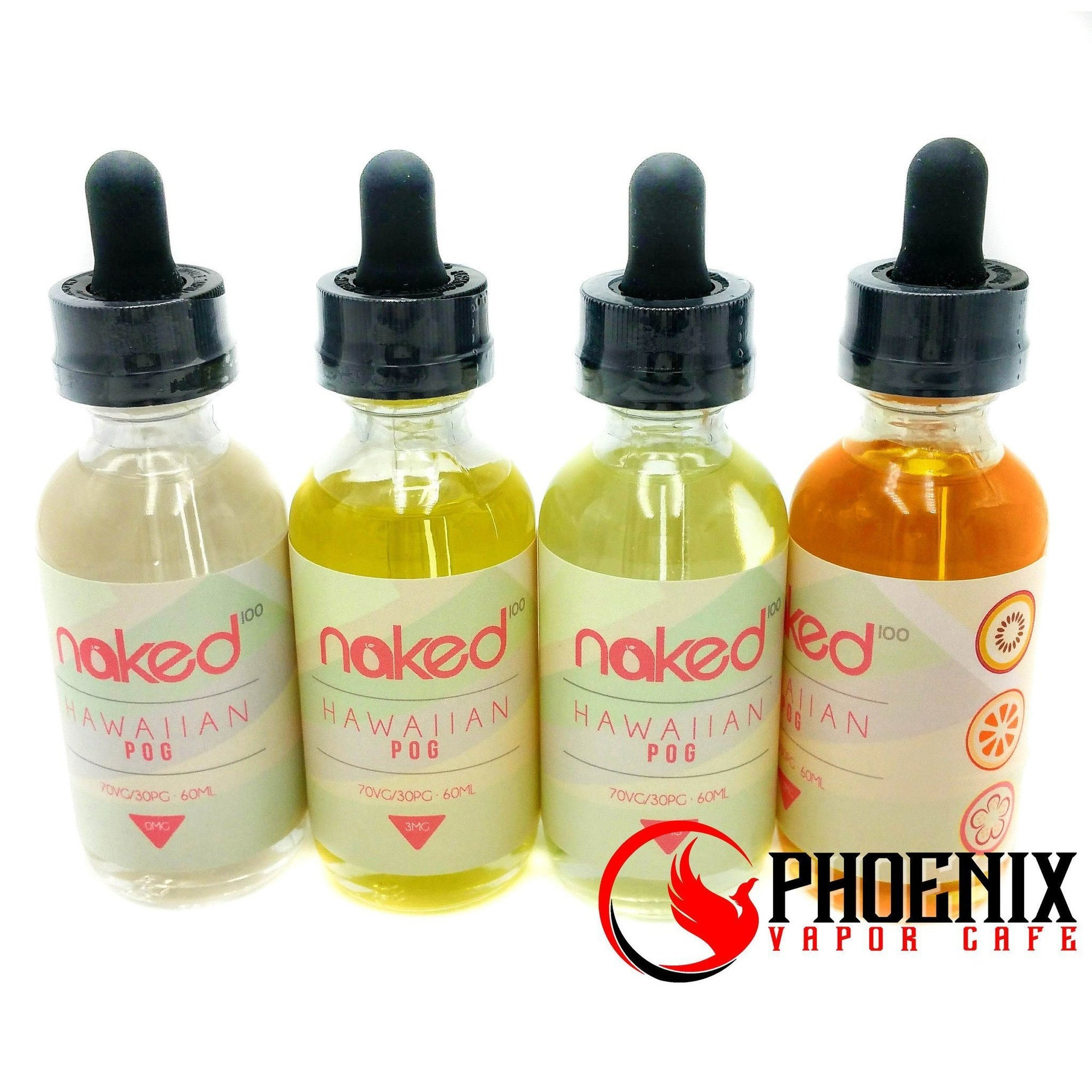 Naked E-Liquid 60 ml / 0 mg Naked Hawaiian POG