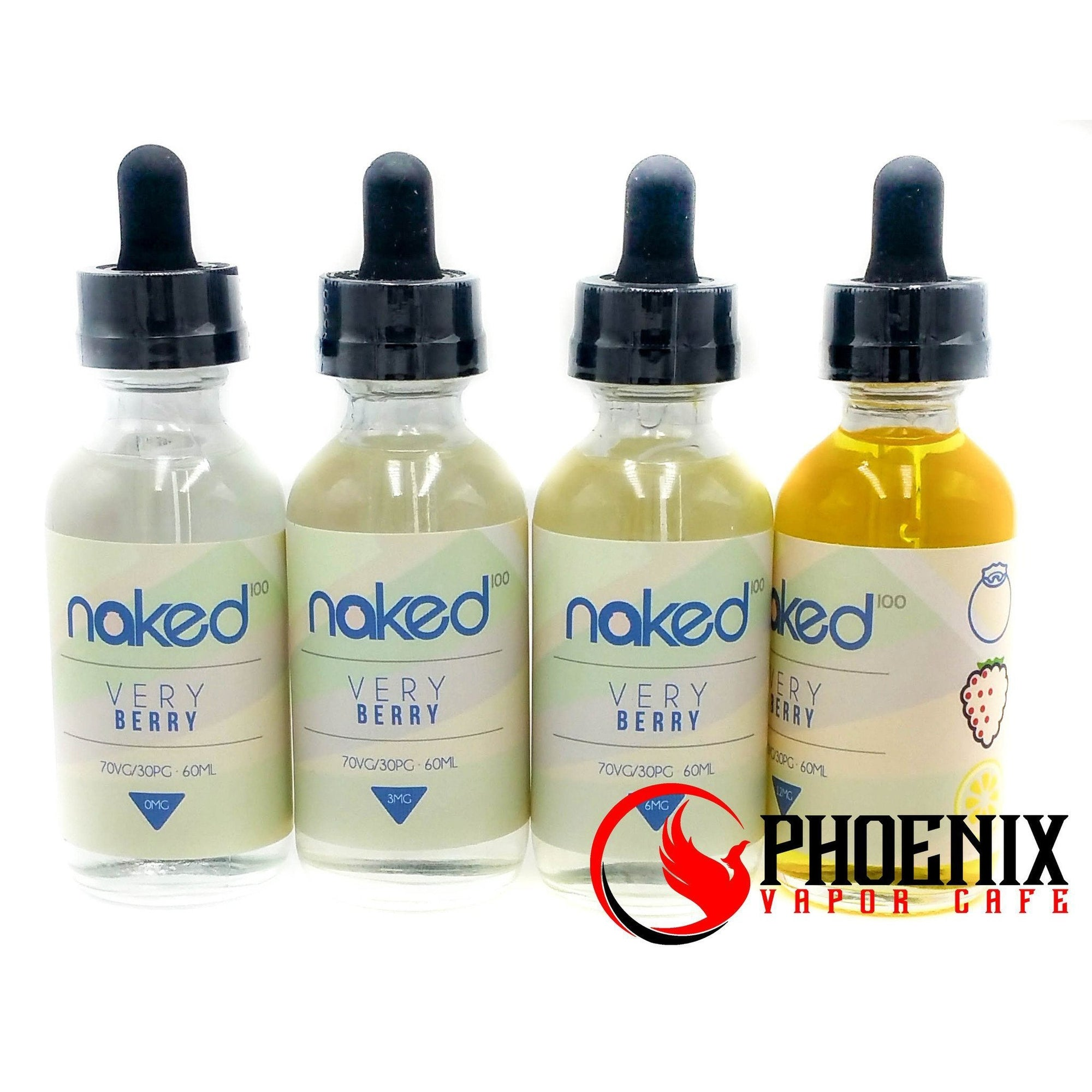 Naked E-Liquid 60 ml / 0 mg Naked Very Berry