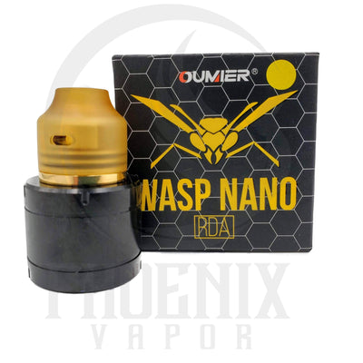 OUMIER (Rebuildables) RDA Gold Wasp Nano RDA by OUMIER