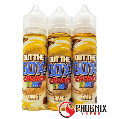Out The Box E-Liquid 60 ml / 0 mg Crunch Time by Out The Box