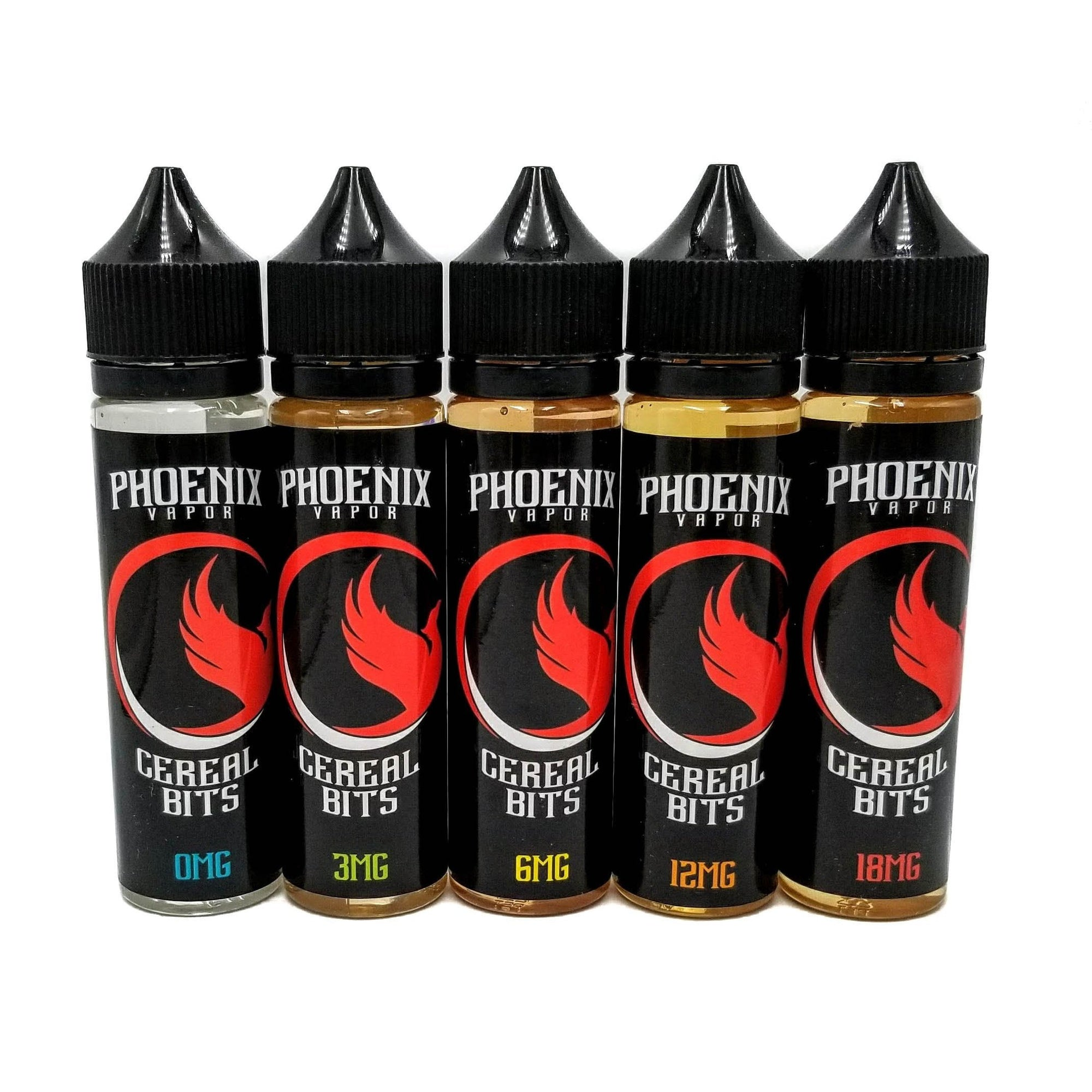 Phoenix Vapor E-Liquid E-Liquid 60 ml / 0 mg Cereal Bits by Phoenix Vapor