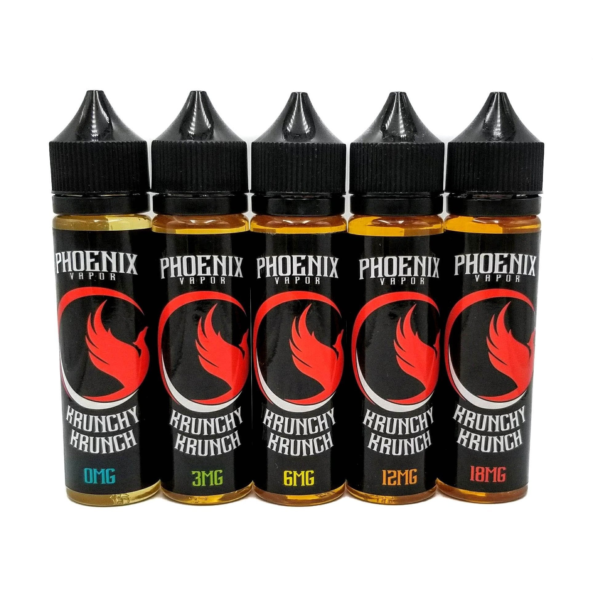 Phoenix Vapor E-Liquid E-Liquid 60 ml / 0 mg Krunchy Krunch by Phoenix Vapor