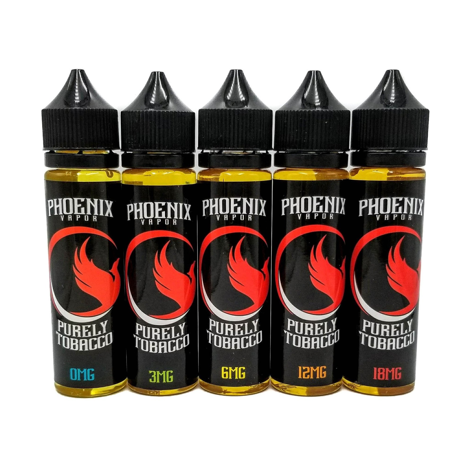 Phoenix Vapor E-Liquid E-Liquid 60 ml / 0 mg Purely Tobacco by Phoenix Vapor