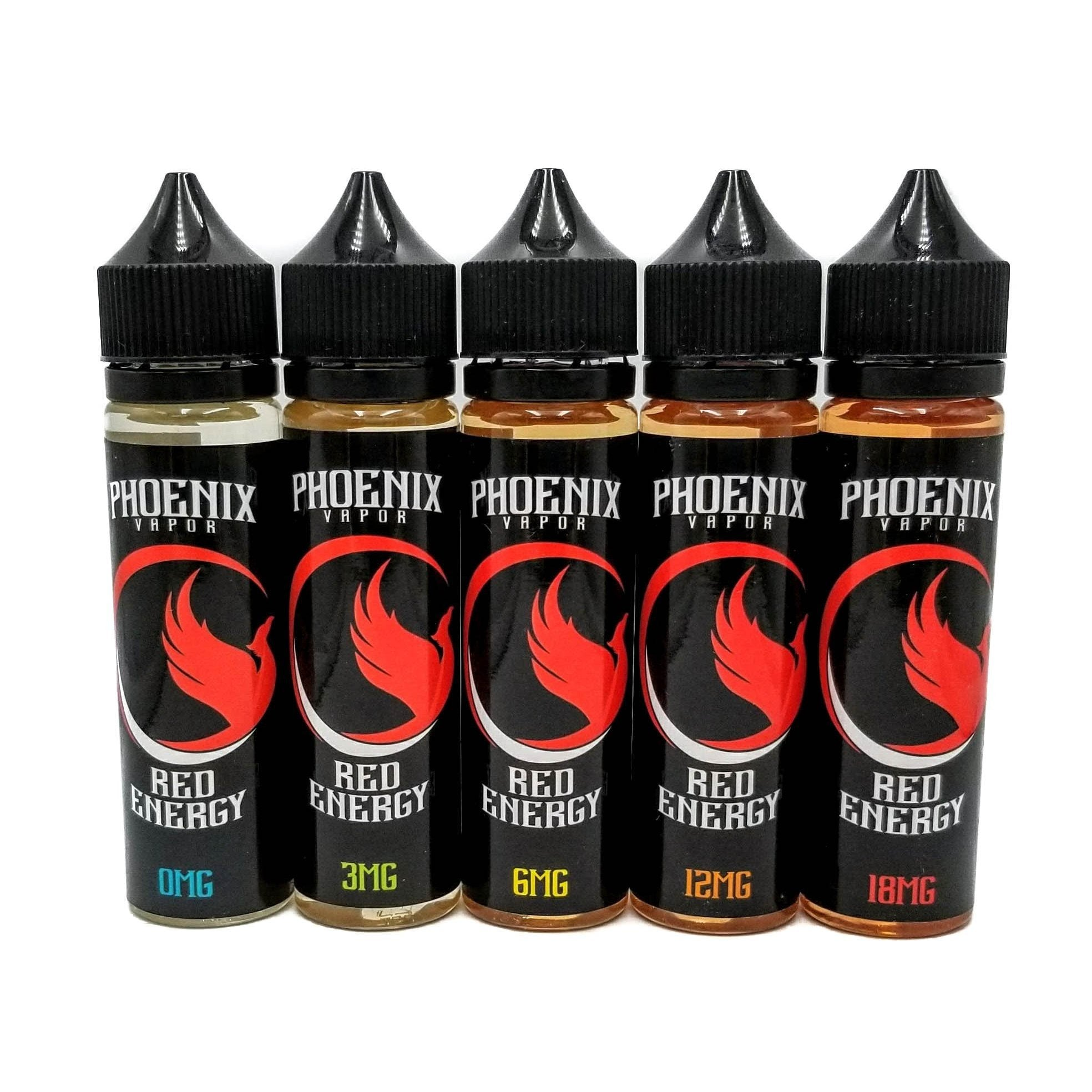 Red Energy by Phoenix Vapor