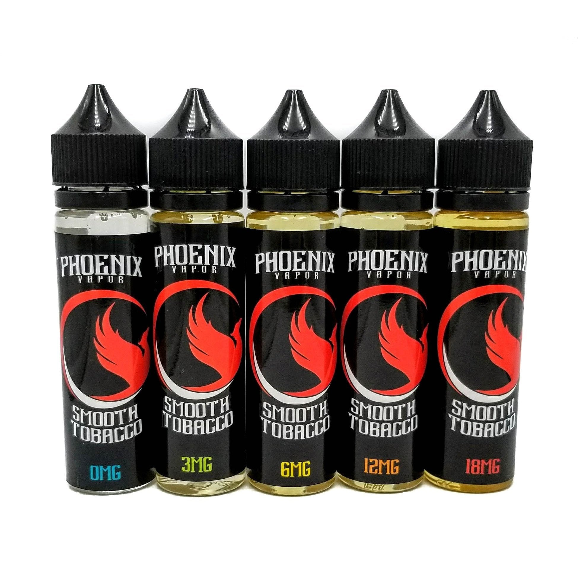 Phoenix Vapor E-Liquid E-Liquid 60 ml / 0 mg Smooth Tobacco by Phoenix Vapor