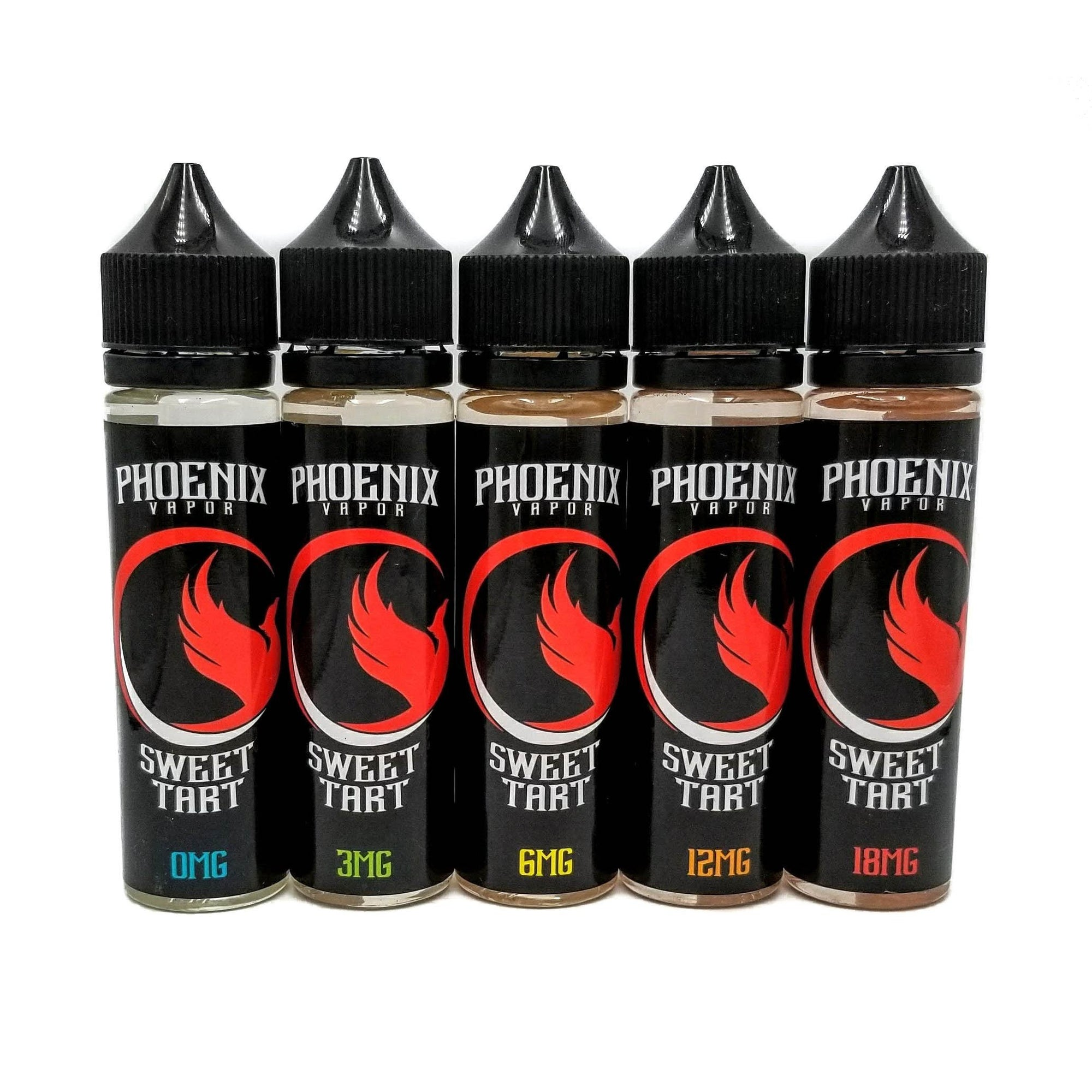 Phoenix Vapor E-Liquid E-Liquid 60ml / 0mg Sweet Tart by Phoenix Vapor