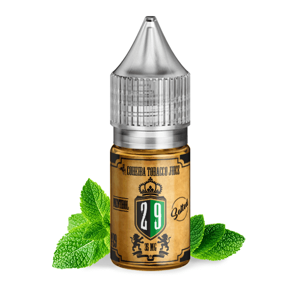Salted Nic Salt 30 ml / 35 mg #29 Menthol Tobacco by Coheiba (Nic-Salt)
