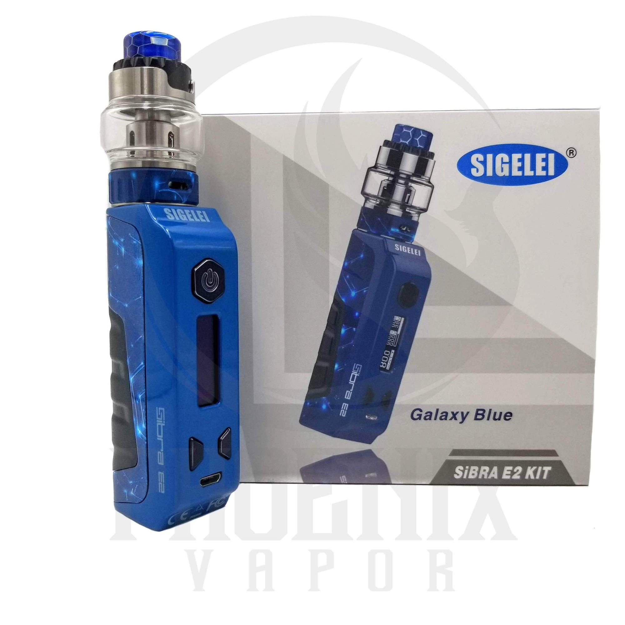 Sigelei (Mods) Regulated Mod Galaxy Blue Sibra E2 80W Kit by Sigelei