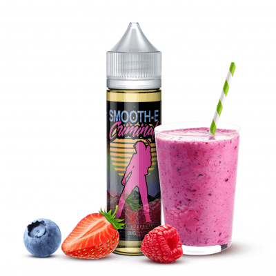 Smooth-E Criminal E-Liquid 60 ml / 0 mg Usual Suspects by Smooth-E Criminal