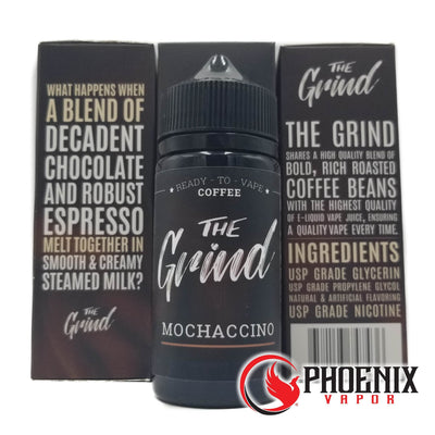 The Grind E-Liquid 100 ml / 0 mg Mochaccino by The Grind - 100ml