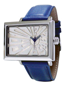 EOS NEW YORK Unisex Mad Hatter Watch in Blue