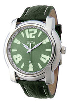 EOS New York Mens Large Gatsby Watch in Teal Green