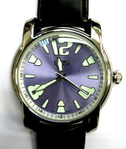 EOS New York Mens Large Gatsby Watch in Mysterious Purple