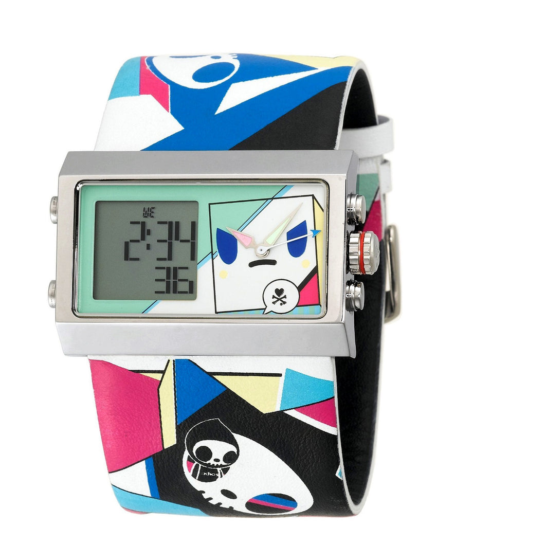 Tokidoki Unisex Discotheque Analog Digital Watch