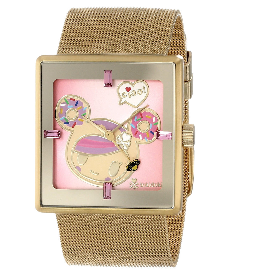 Tokidoki Donutella Mesh Watch