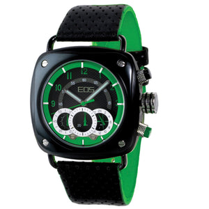 EOS New York Guage Chrono Green