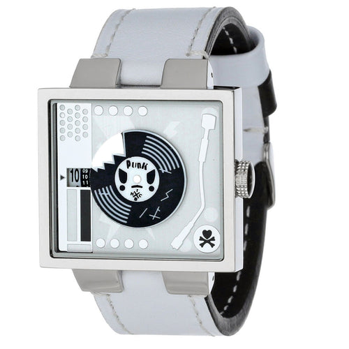 Tokidoki Unisex Chromo Vinile White Watch