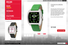 EOS NEW YORK SYNTAX Watch in Green
