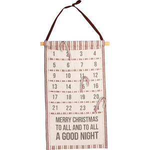 Holiday Countdown Wall Hanging