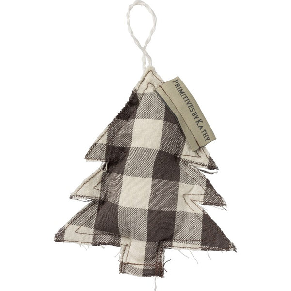 Plaid Ornaments